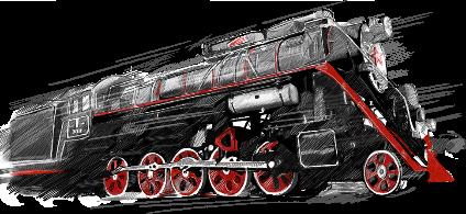 lokomotiv train
